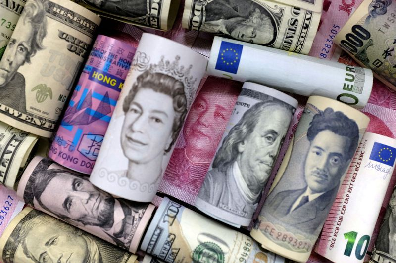 Yen set for biggest weekly rise this year as economic rebound hopes fade