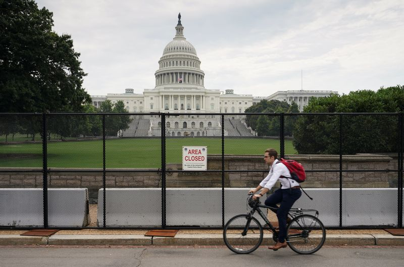Fencing around U.S. Capitol coming down six months after Jan. 6 attack