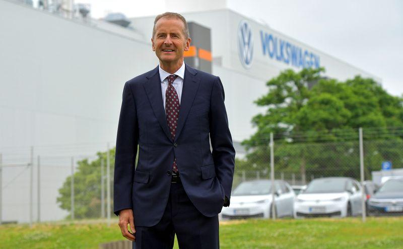 Volkswagen, Ceo Diess ottiene estensione contratto fino a ottobre 2025