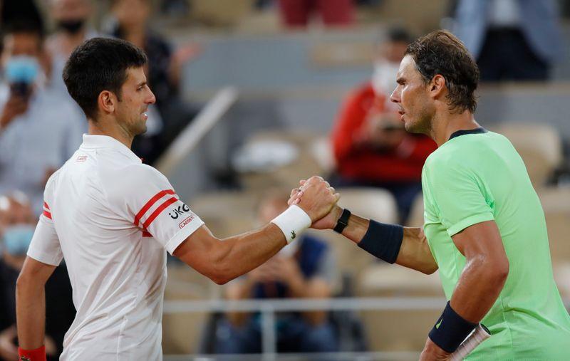 Djokovic fait tomber Nadal dans un match de légende