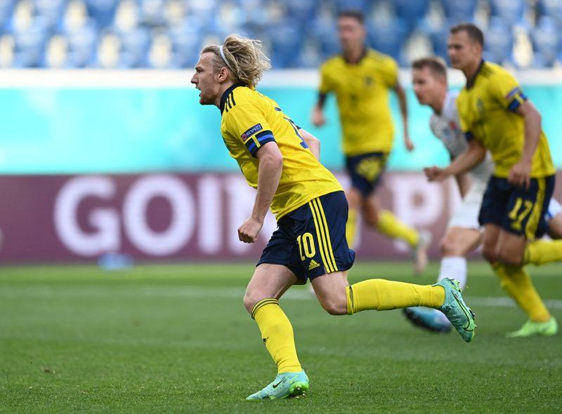 La Suède fait plier la Slovaquie