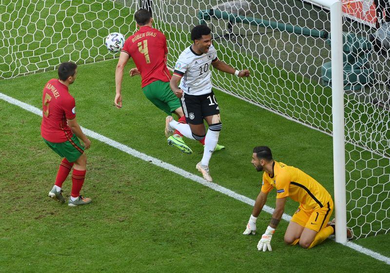 L'Allemagne s'impose face au Portugal