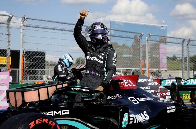 Lewis Hamilton réalise le meilleur temps des qualifications du GP de Hongrie