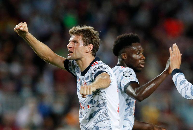 Le Bayern et la Juventus facile, Lille malchanceux