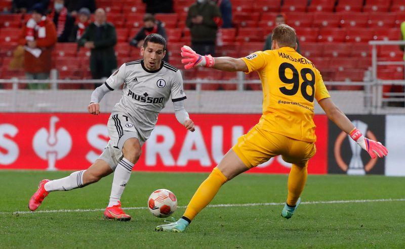 Le Legia surprend le Spartak