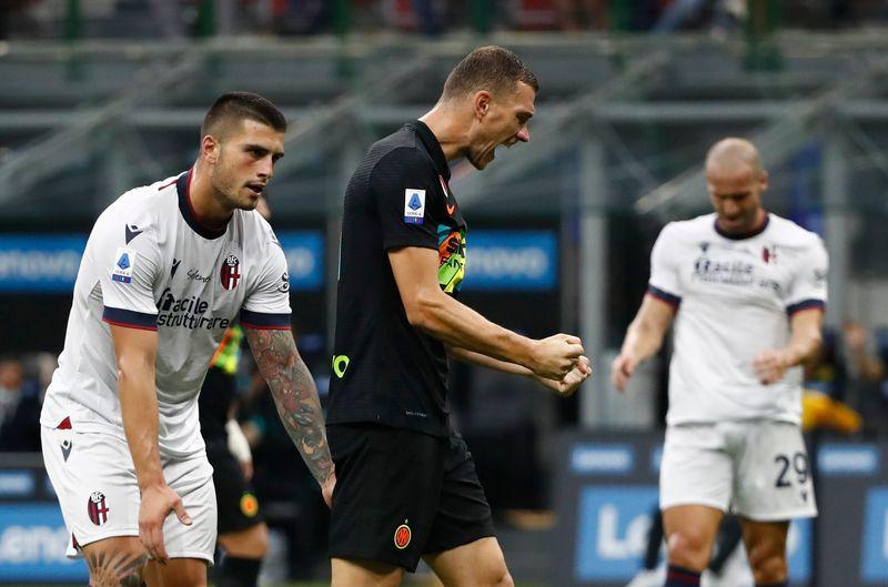 Serie A : l'Inter Milan en démonstration face à Bologne